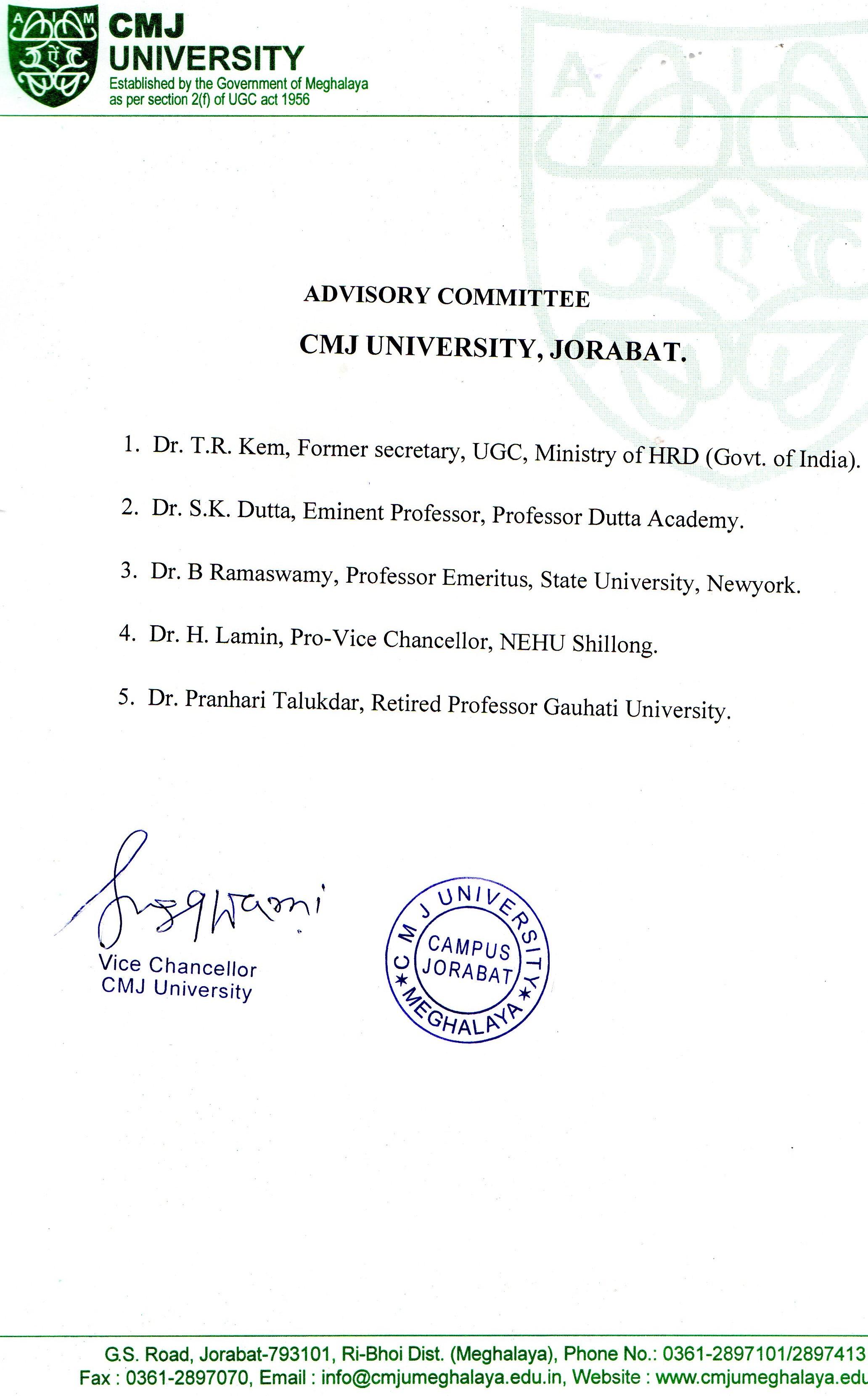 CMJ University: Best University in Meghalaya - Top College